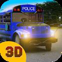 Police Bus Driver 3D: Prison icon