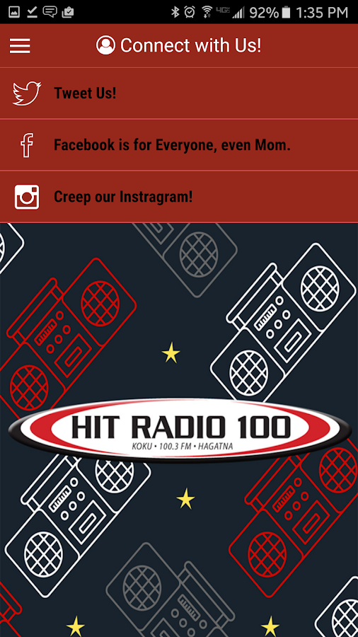Hit Radio 100- screenshot