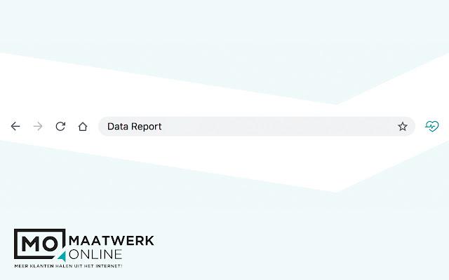 Maatwerk Online Datareport