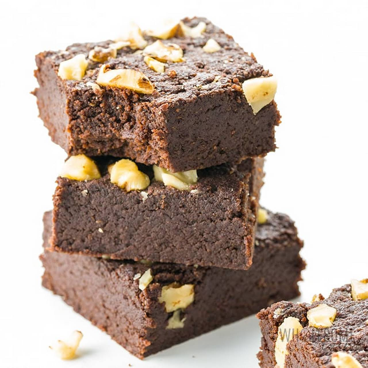 Fudgy Keto Brownies with Almond Flour