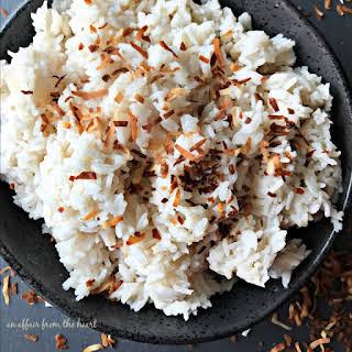 Jamaican Coconut Sweet Rice.
