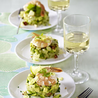 Prawns with Avocado Salad