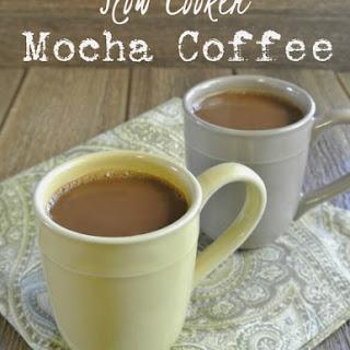 Slow Cooker Mocha Coffee.