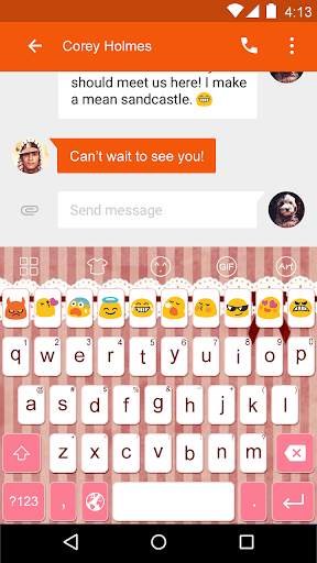 Small Cute -Emoji Keyboard