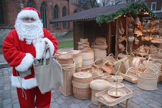 Photo: Nice environmentally friendly bag you have Santa. www.linen.lv