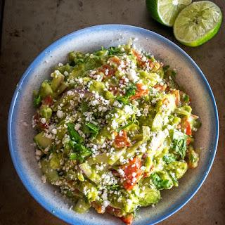 Avocado Salad with Lime Cilantro Dressing Recipe