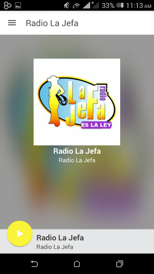 Radio La Jefa- screenshot