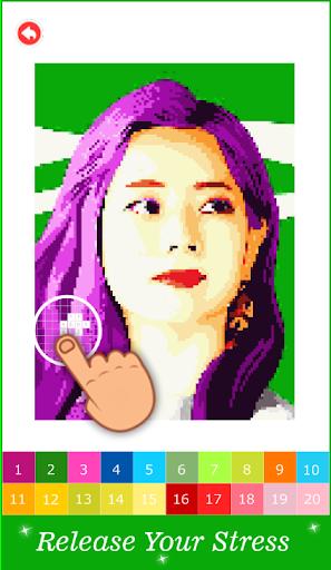 Pixel Art KPOP Color By Number 1.3 screenshots 4
