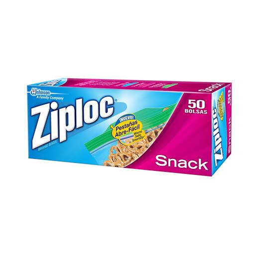 bolsas ziploc snack 50 und