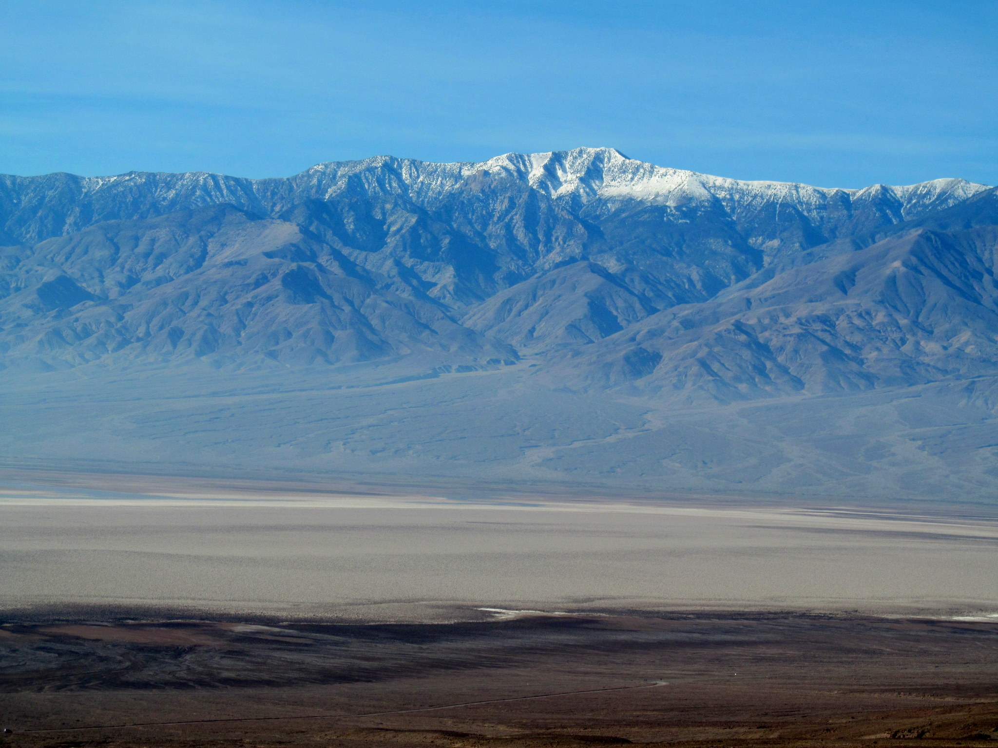 Photo: Telescope Peak, highest point in Death Valley National Park