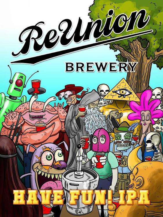Logo of ReUnion Have Fun! IPA