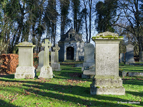 Photo: Graveyard at St Devenick's on the Hill Church, Aberdeen