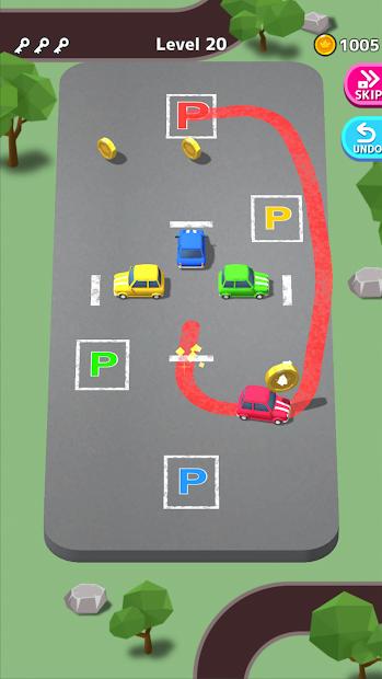 Park Master Android App Screenshot