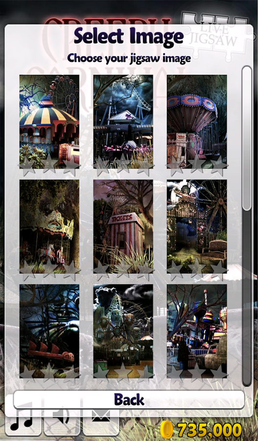 Live Jigsaws - Creepy Carnival- screenshot
