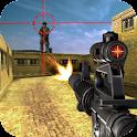 Real sniper city war 3D icon