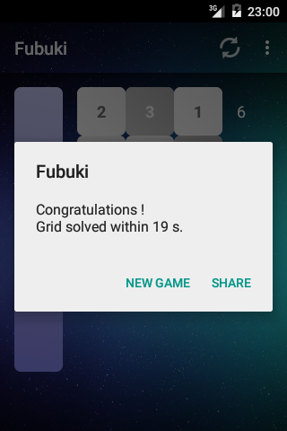Fubuki – Screenshot