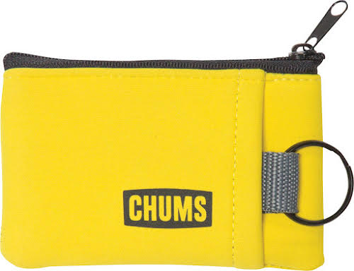 Chums Floating Marsupial Wallet and Keychain: Yellow