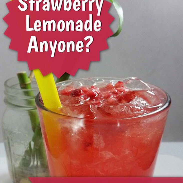 Copycat Sweet-Tart Strawberry Lemonade (Red Robin Strawberry Lemonade) Recipe