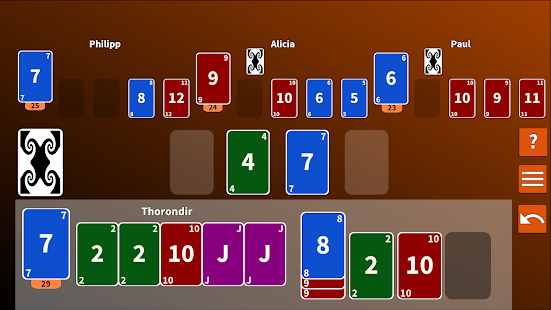 Skido 2 card game - náhled