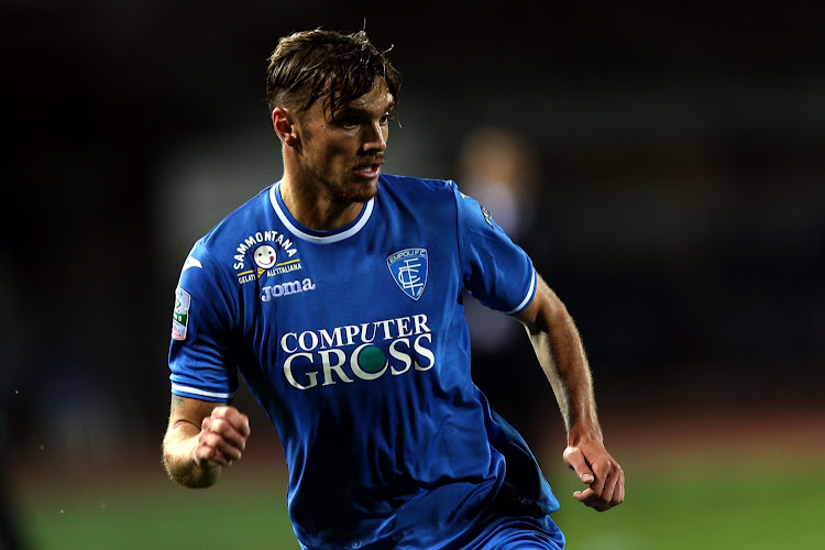 The 24-year-old right-back is on loan at Empoli from Italian giants Juventus. File photo
