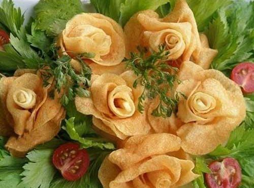 Potato Roses Recipe