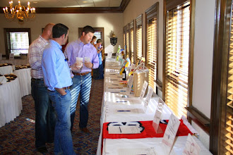 Photo: 6th Annual Varsity Club Celebrity Golf Classic Silent Auction held at Golden Eagle Country Club.