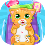 Kitty Cat Doctor - Pet Vet Doctor game Icon