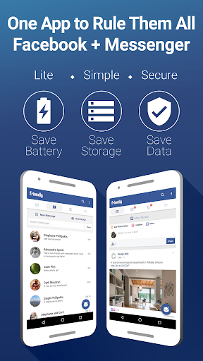 Friendly for Facebook v1.8.11 [Unlocked]