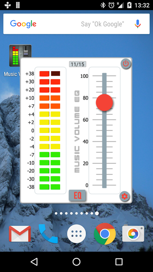 Music Volume EQ- screenshot