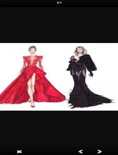 Dress Design Sketches - náhled