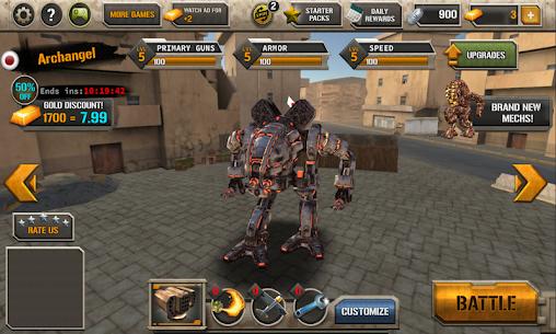 Mech Legion: Age of Robots 2.71 MOD (Unlimited Money) 9