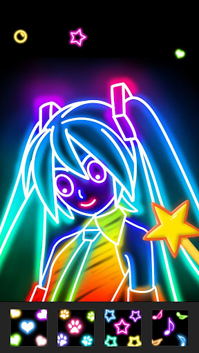Draw Glow Comics 1.0.1 screenshots 5