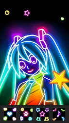 Draw Glow Comics APK screenshot thumbnail 5