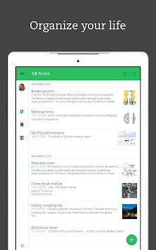 Evernote – Organizer, Planner, Notebook & Journal