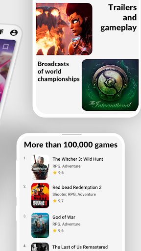 ToPlay - News, streams and games. Video game news. 3.0.3 (79) screenshots 2