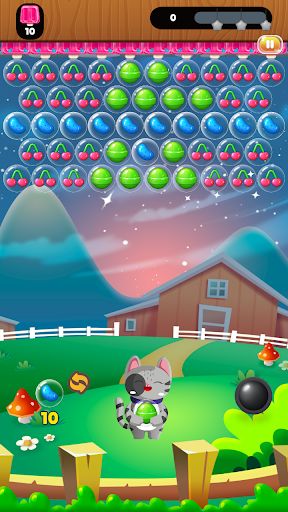 Super Furry Bubble Shooter HD u2013 Candy Puzzle android2mod screenshots 1