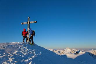 Photo: Skitour zum Similaun, Oetztaler Alpen, Tirol, Oesterreich.