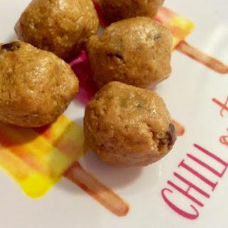 Peanut Butter Mini Chocolate Chip Snack Balls From Alexandersmom.Com Recipe