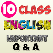 10th class english important Q & A