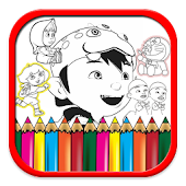 Coloring Cartoon Pages