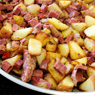 Easy As Crispy Corned Beef Hash.