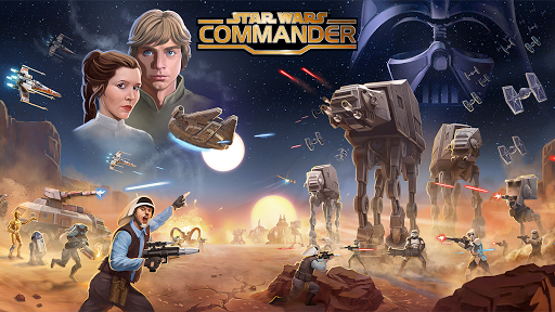 Star Wars: Commander fond d'écran 1