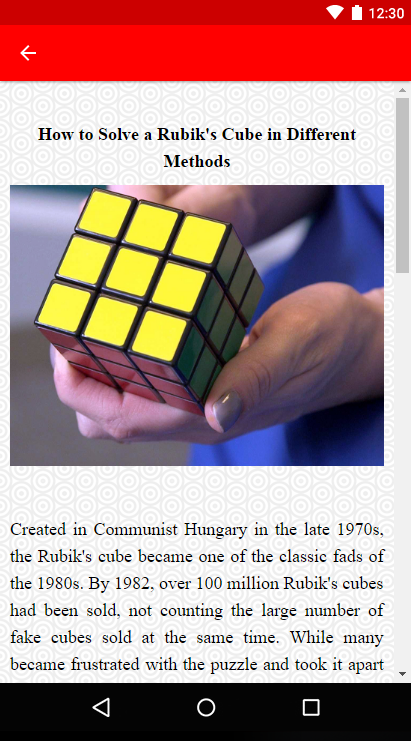 Permalink to How To Solve A Rubik's Cube