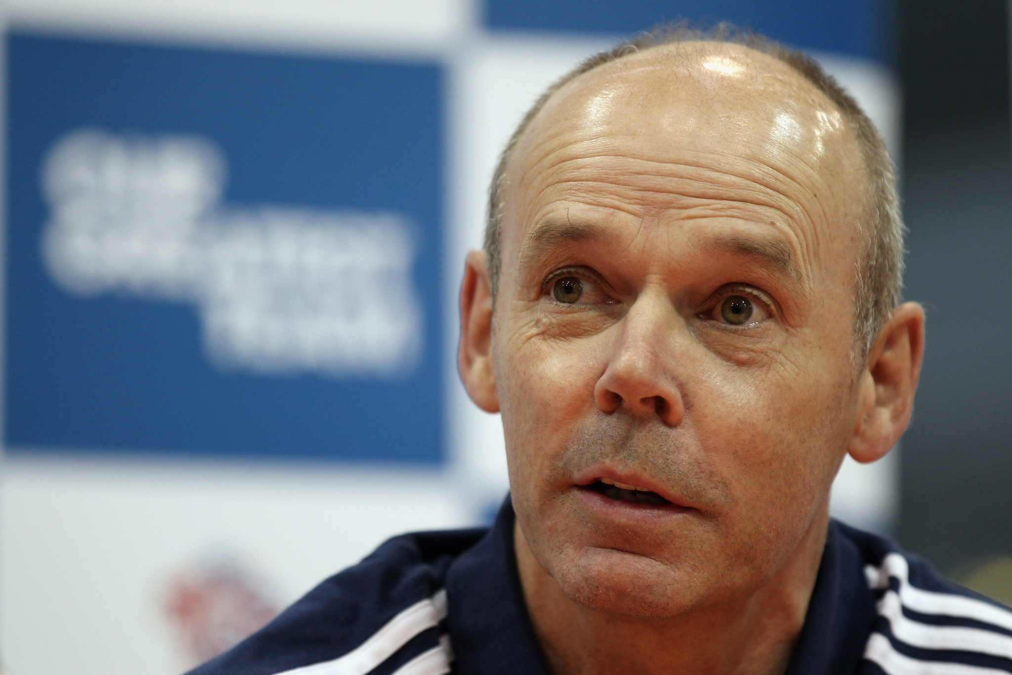 Photo: Team GB Deputy Chef de Mission Sir Clive Woodward talks to the media . (Photo by Bryn Lennon/Getty Images)