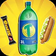Stickers de comidas y bebidas de Chile para WSP