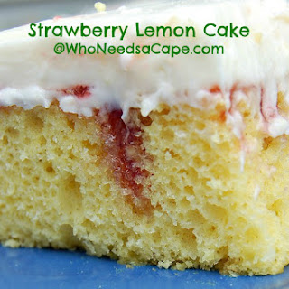 Strawberry Lemon Cake.