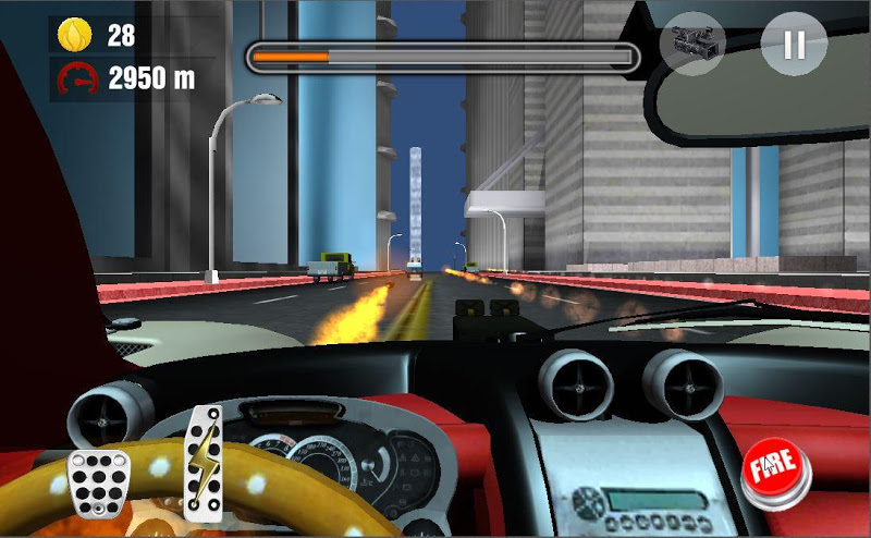 Скриншот сумасшедший Сити гонщик
