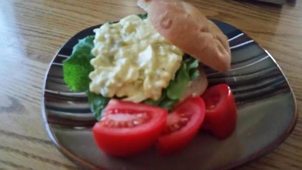 Egg Salad Sandwiches (on Big Soft Buns) Recipe