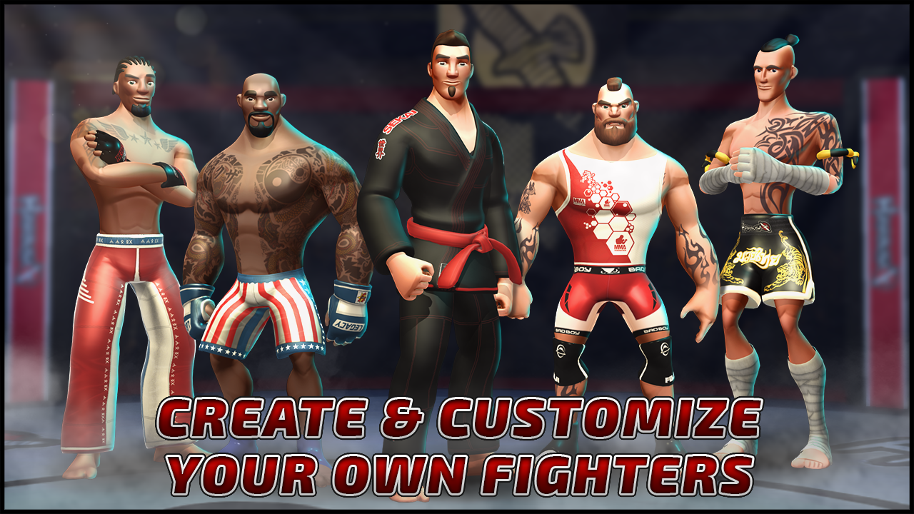 MMA Federation- screenshot