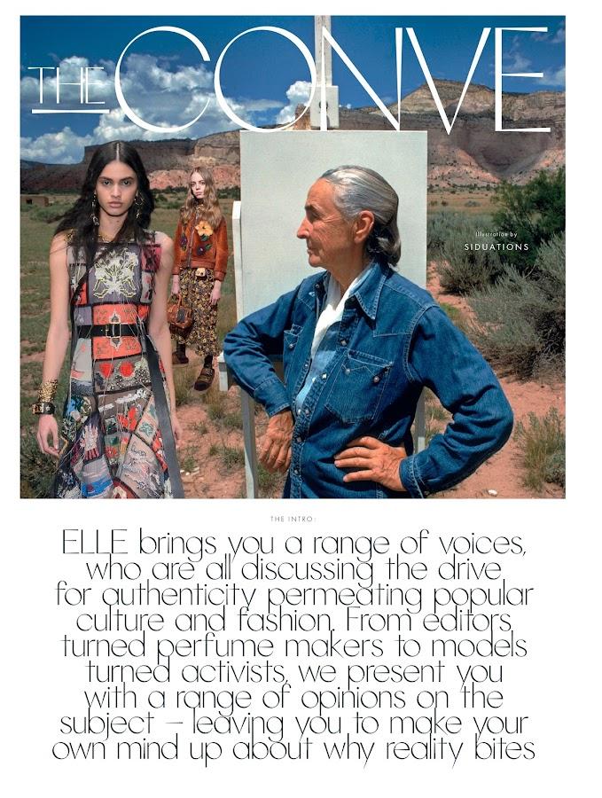 Elle Magazine UK- screenshot